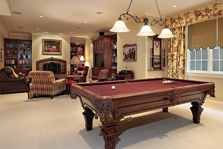 Pool table assembly with perfect leveling in Newport content img3